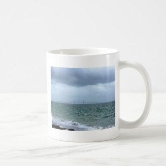 Skyway on a stormy day mug