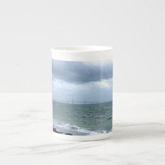 Skyway on a Stormy Day Bone China Mug
