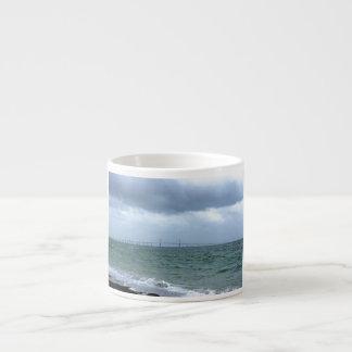 Skyway on a Stormy Day Espresso Cups