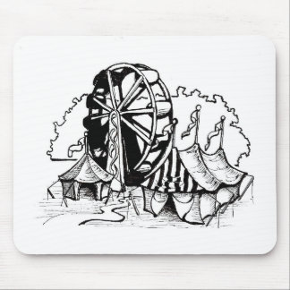 Skywheel Desgin Mouse Pad
