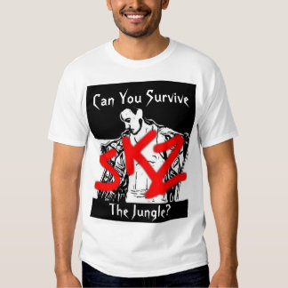 skz, Can You Survive , The Jungle? Tee Shirt