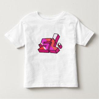 SL markered up T-shirt