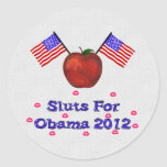 SL*TS FOR OBAMA STICKERS