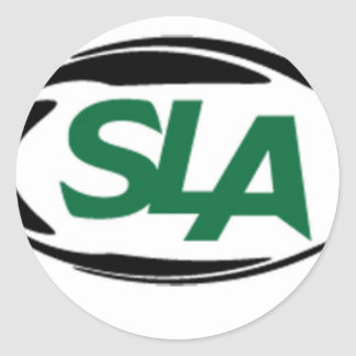 SLA select gifts Classic Round Sticker