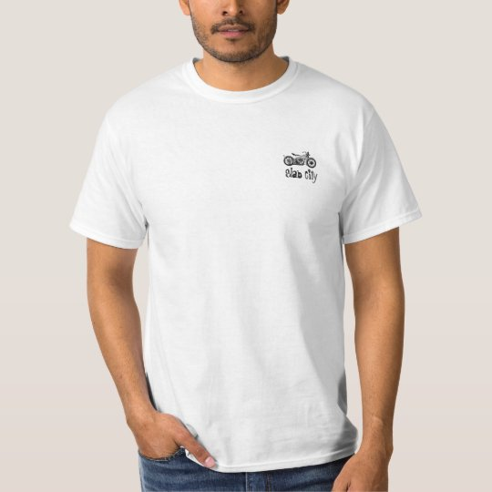 """Slab City """"Respect"""" Motorcycle T-Shirt"""