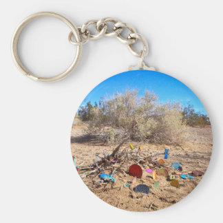 Slab City Trash Garden Keychain