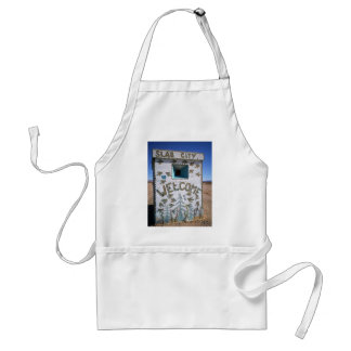 """Slab City """" Welcome"""" Adult Apron"""