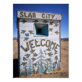 SLab City Welcome Postcards