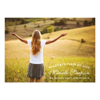 SLAB GRAD | GRADUATION INVITATION TEMPLATE