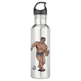 Slab Water Bottle (24 oz), Stainless Steel