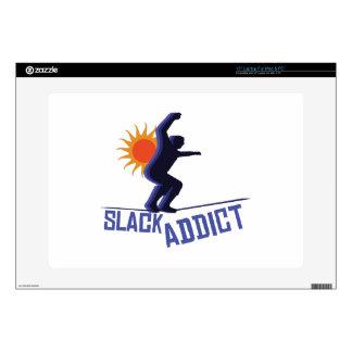 Slack Addict Laptop Skin