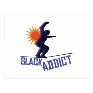 Slack Addict Postcard
