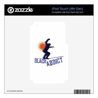 Slack Addict Skins For iPod Touch 4G