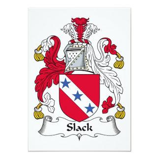 Slack Family Crest Custom Invite