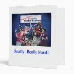 Slacker Academy Vinyl Binder