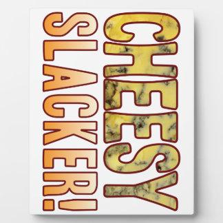 Slacker Blue Cheese Plaque