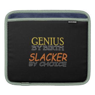 Slacker by Choice iPad Sleeves
