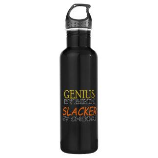 Slacker by Choice Water Bottle