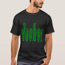 Slacker / Couch Poturtle T-Shirt - black edun LIVE