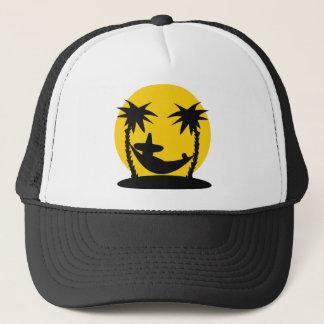 slacker hammock icon trucker hat