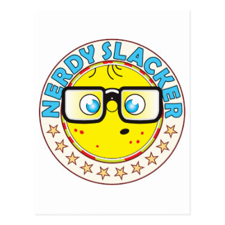 Slacker Nerdy Postcard