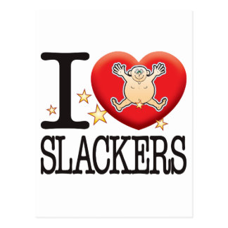 Slackers Love Man Postcard