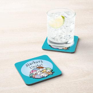 Slackers Unite Beverage Coaster