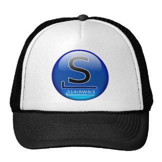 Slackware hacker trucker hat