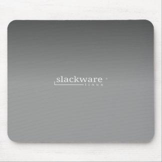Slackware Linux Grey Mousepad