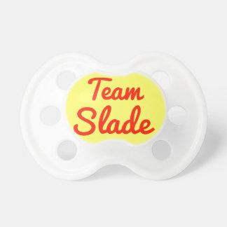 Slade del equipo chupete