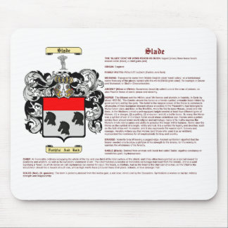 Slade (meaning) mouse pad