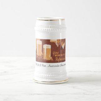 Sladich Bar, Anaconda Montana Beer Stein