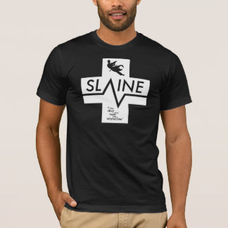SLAINE - Black & White - T-SHIRT