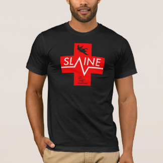 SLAINE - Crimson Cross - T-SHIRT