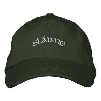 Sláinte - casquillo gorra de beisbol bordada