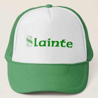 Slainte Cheers in Irish Trucker Hat