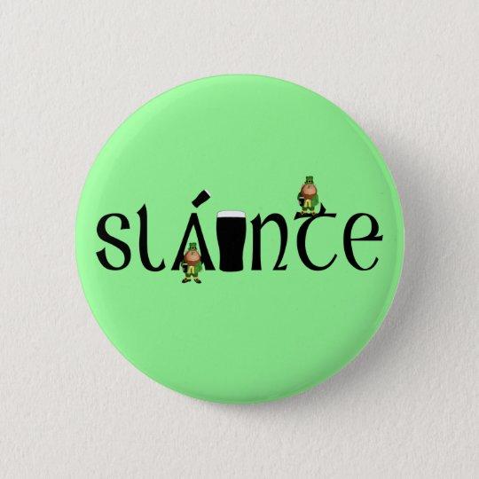 Slainte Gaelic Pinback Button