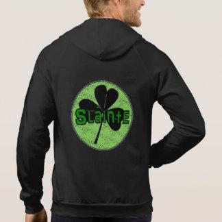Slainte - Irish Drinking Toast - St Pattys Day Hoodie