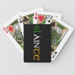 Slainte naipes cartas de juego