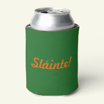 Sláinte St Patricks Day Green Beer Cooler