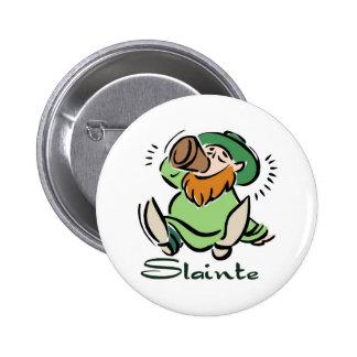 Slainte Sticker Button
