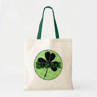 Slainte - Vintage Look - St Pattys Day Gifts Tote Bag