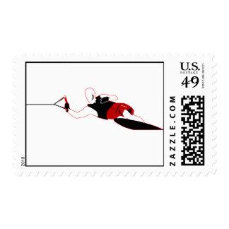 Slalom Waterski Stamps