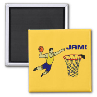 Slam 2 Inch Square Magnet
