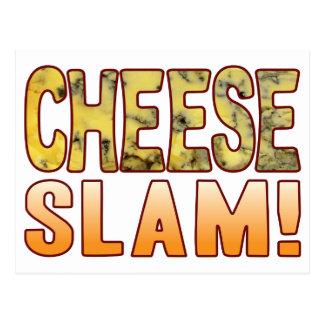 Slam Blue Cheese Postcard
