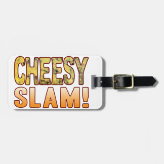 Slam Blue Cheesy Bag Tag