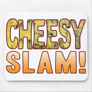 Slam Blue Cheesy Mouse Pad