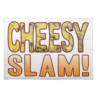Slam Blue Cheesy Placemat