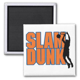slam dunk 2 inch square magnet