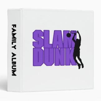 Slam Dunk Basketball 3 Ring Binder